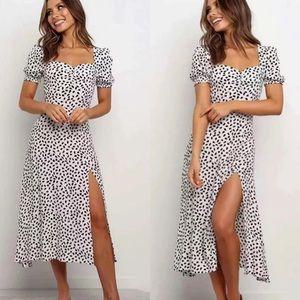 Slide Show Polka dot dress size 12